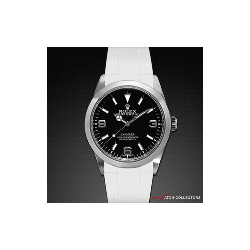Rubber B for Rolex Explorer I 39mm