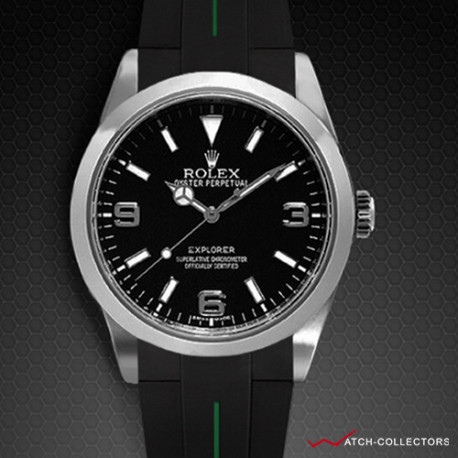 Strap for Rolex Explorer I 39mm - VulChromatic® Series (Clasp NOT included)