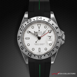 Strap for Rolex Explorer II 40mm - VulChromatic® Series (Tang Buckle Series)