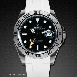 Strap for Rolex Explorer II New 42mm - Classic Series (Clasp NOT included)