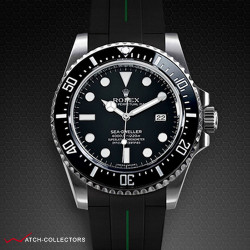 Strap for Rolex New Sea-Dweller 4000 - VulChromatic® Series (Tang Buckle Series)