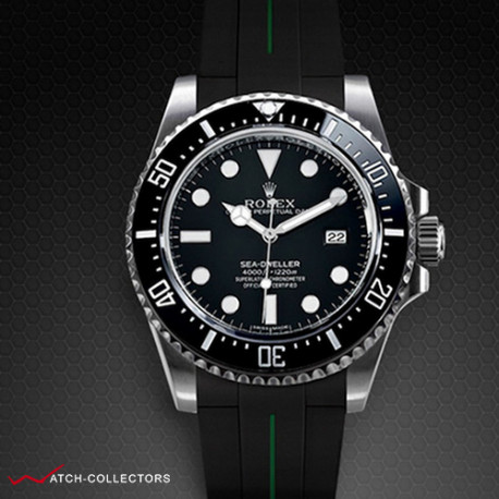 Strap for Rolex Sea-Dweller - VulChromatic® Series (Tang Buckle Series)