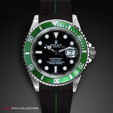 Strap for Rolex Submariner Ceramic - VulChromatic® Series (Tang Buckle Series)