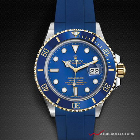 Strap for Rolex Submariner Ceramic - Classic Series (Tang Buckle Series)