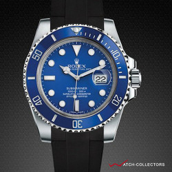 Strap for Rolex Submariner Ceramic - Glidelock Edition (Clasp NOT included)
