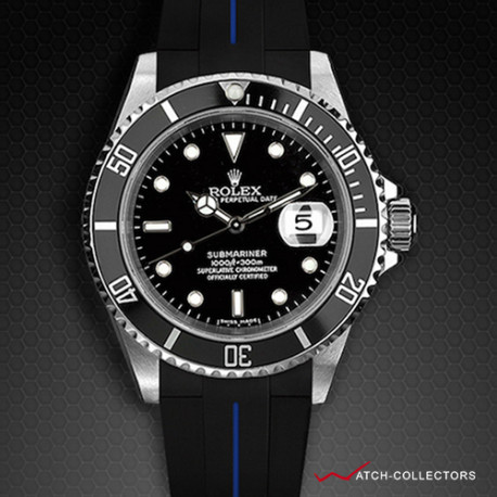 Strap for Rolex Submariner Ceramic - VulChromatic® Series (Tang Buckle Series)