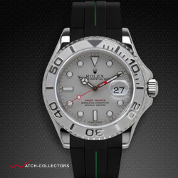 Strap for Rolex Yachtmaster 40mm - VulChromatic® Series (Tang Buckle Series)