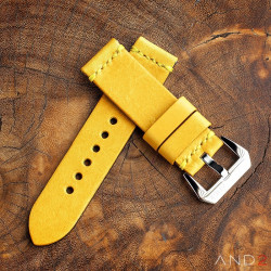 Horween Chromexcel Yellow Leather 24mm