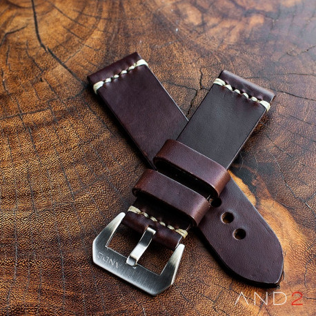 Horween Chromexcel Brown Leather Strap