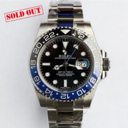 Rolex GMT Master II Ref 116710BLNR BATMAN