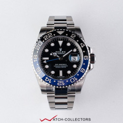 Rolex GMT MasterII Ref 116710BLNR BATMAN