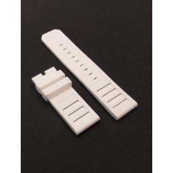 White Rubber Strap