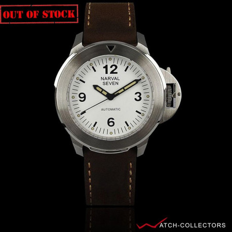 White Dial  DV-103W Stainless Steel Case