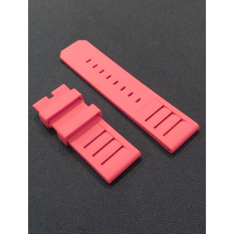 Red Silicone strap