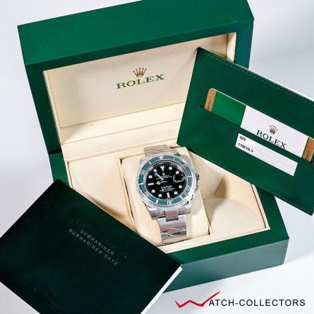 Rolex Green Submariner Ref 116610LV aka HULK