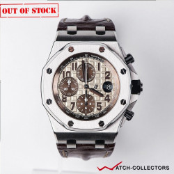 Audemars Piguet Royal Oak Offshore Ivory dial New Safari