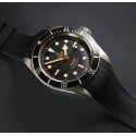 Rubber B For Tudor  Heritage Black Bay 41mm Models