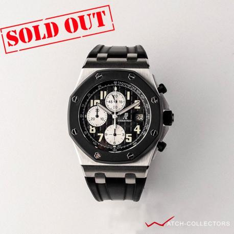 AP Offshore Rubber Clad Black dial