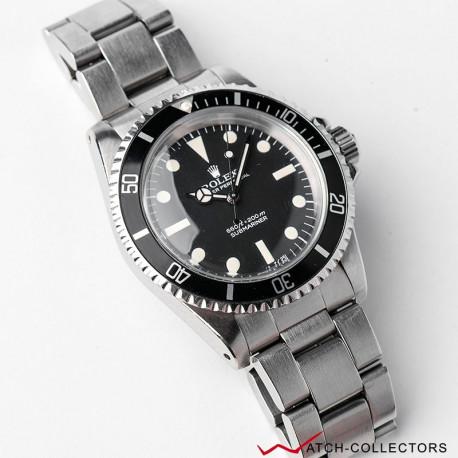 Rolex Submariner Ref 5513 Maxi dial Mark IV Circa 1982