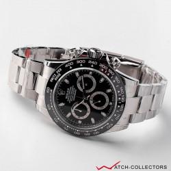 Rolex Cosmograph Daytona Black dial Ref 116500ln Circa 2018