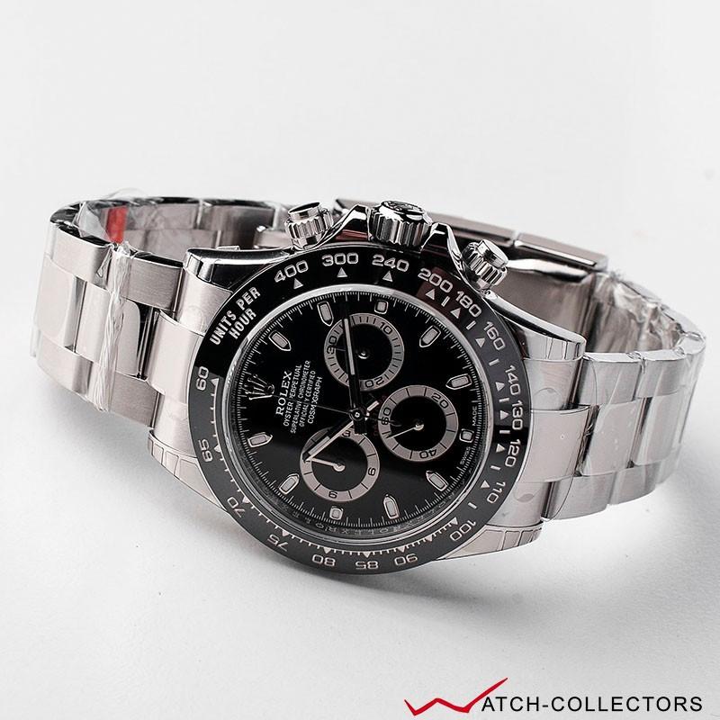 Rolex Cosmograph Daytona Black Dial Ref 116500ln Circa