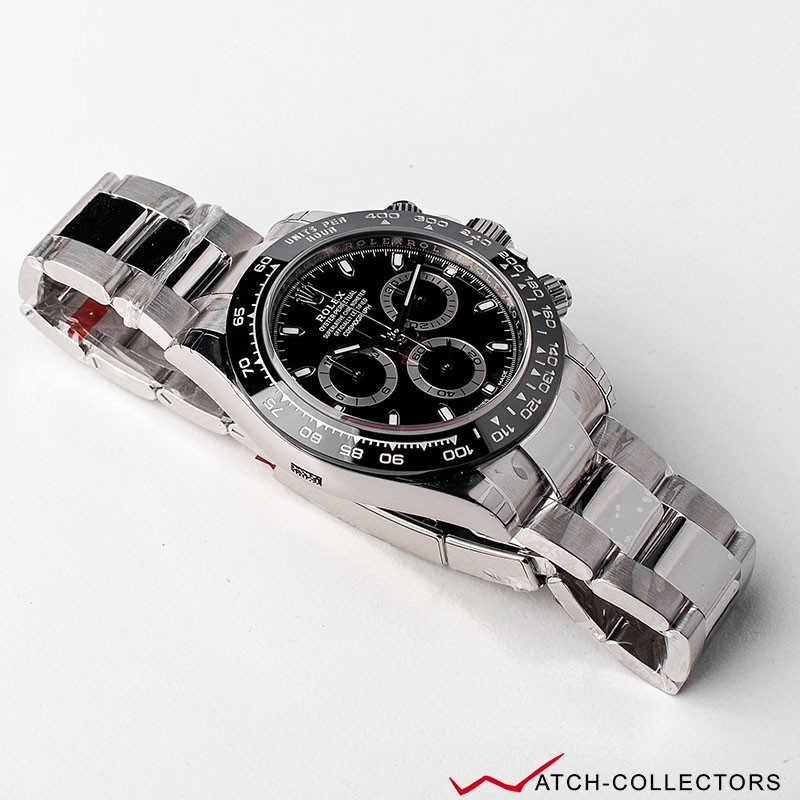 rolex cosmograph daytona black dial ref 116500ln circa. Black Bedroom Furniture Sets. Home Design Ideas