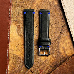 Speedy Black Leather Strap
