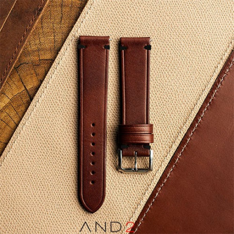 Speedy Chestnut Leather Strap