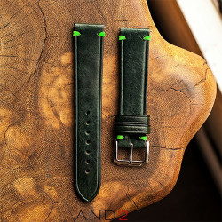 Speedy Pine leather Strap