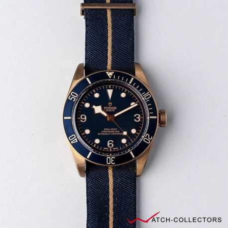 Tudor Black Bay BRONZE BLUE Ltd Bucherer Circa 2017