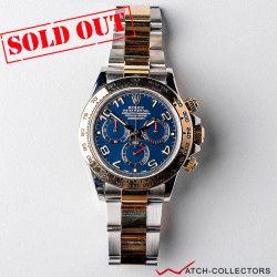 Rolex Cosmograph Daytona Ref 116523 Blue Racing dial Circa 2015