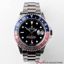 Rolex GMT Master II PEPSI Ref 16710 Faded Bezel Insert Circa 2002
