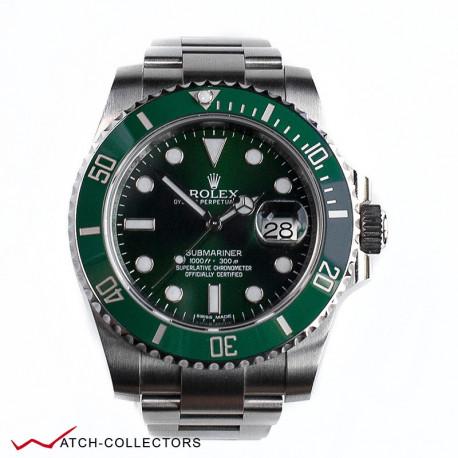 Rolex Green Hulk Submariner Ref 116610LV Circa 2018