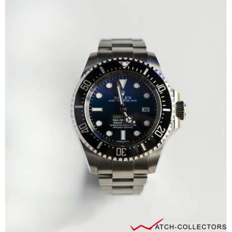 Rolex DeepSea DBlue James Cameron Mark1 Ref 116660 Circa 2017
