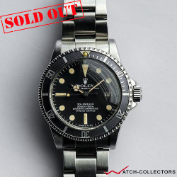 Rolex Sea-Dweller Ref 1665 Mark1 with Ghost bezel insert Circa 1977