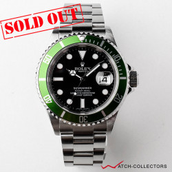 Rolex Green Kermit Submariner Ref 16610LV Z Serial Circa 2007