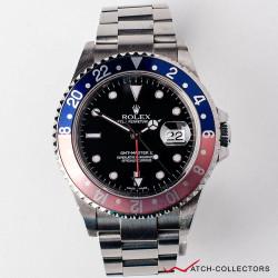 Rolex GMT Master II PEPSI Ref 16710BLRO F Serial Circa 2003