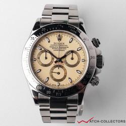 Rolex Cosmograph Daytona Cream Dial Ref 116520 K Serial Circa 2001