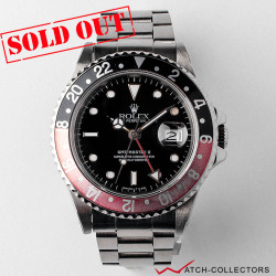 Rolex GMT Master II Fat Lady Ref 16760 R serial Circa 1986