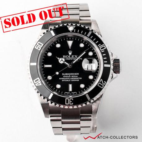 Rolex Submariner Date Ref 16610 F Serial Circa 2004