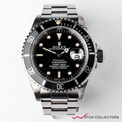 Rolex Submariner Double Name Tiffany Ref 16610 R Serial Circa 1987