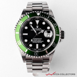 Rolex Submariner 50th Anniversary Ref 16610LV Flat 4 Y Serial Circa 2003