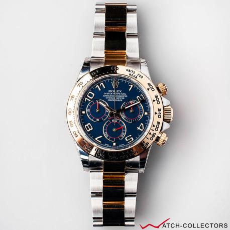 NOS Rolex Daytona Ref 116503 Blue Racing dial