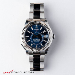 Rolex Oyster Perpetual Sky-Dweller Steel BLUE dial Circa 2019