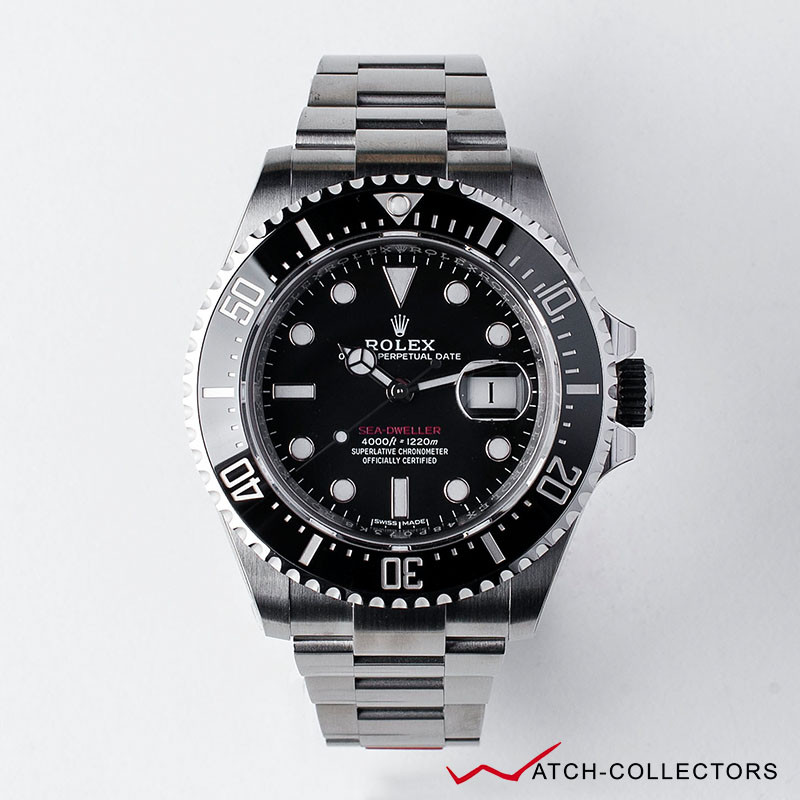 Rolex Red Sea Dweller Ref 126600 Circa 2019 Watch Collectors