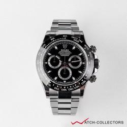 Rolex Cosmograph Daytona Black dial Ref 116500ln Circa 2019