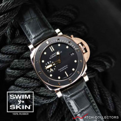RUBBERB SWIMSKIN® ALLIGATOR FOR PANERAI 40mm & 42mm