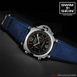 Strap for Panerai 47mm - SwimSkin® Rubber Cuff Series