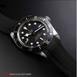 RUBBERB For TUDOR Black Bay 58 (39mm) - Tang Buckle Series