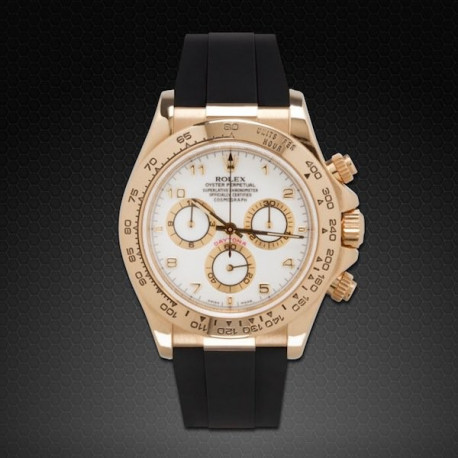 RUBBER B Rolex Daytona on Strap YG / WG
